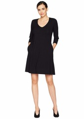 Karen Kane Quinn 3/4 Sleeve Pocket Dress