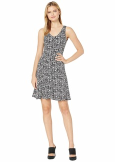 Karen Kane Seamed Fit & Flare Dress