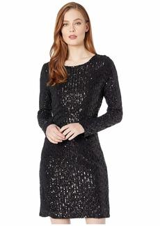 Karen Kane Sequin Sheath Dress