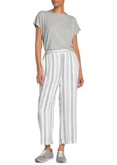 Karen Kane Stripe Woven Wide Leg Pants