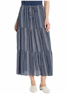 Karen Kane Tiered Midi Skirt