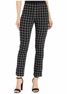 Karen Kane Windowpane Check Piper Pants