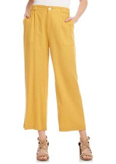 Women's Karen Kane Crop Wide Leg Pants