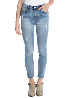 Women's Karen Kane High Waist Ankle Skinny Jeans