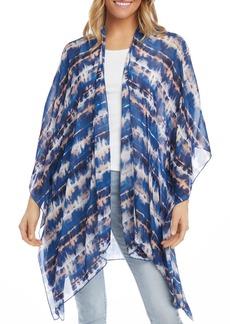Women's Karen Kane Tie Dye Open Front Jacket