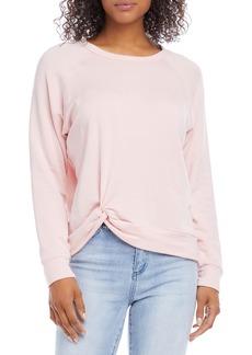 Women's Karen Kane Twist Front Sweatshirt
