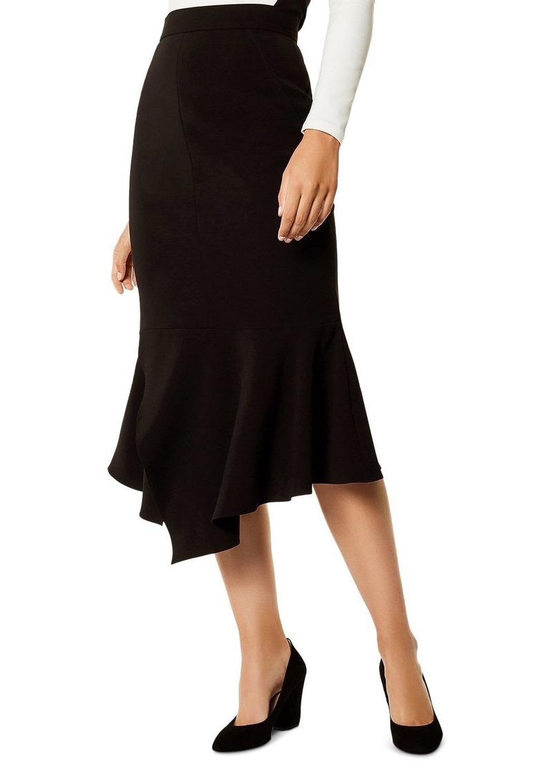 abb77b5c3e5b Karen Millen KAREN MILLEN Asymmetric Trumpet Skirt   Skirts