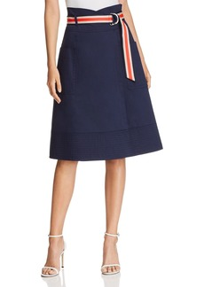 KAREN MILLEN Belted Midi Skirt - 100% Exclusive