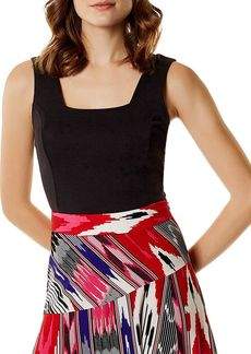 KAREN MILLEN Cutout Cropped Top