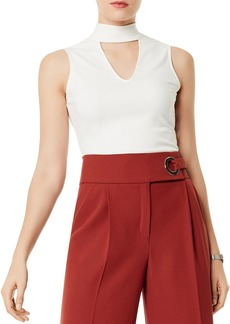 KAREN MILLEN Cutout Sleeveless Top