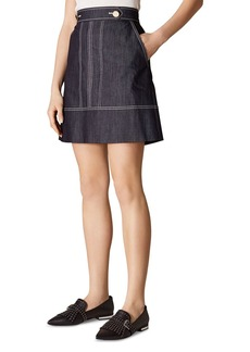 745847dc7a29 Karen Millen KAREN MILLEN Glen Plaid A-Line Skirt