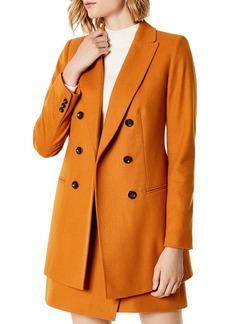 KAREN MILLEN Double-Breasted Coat