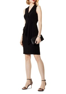 KAREN MILLEN Draped Sheath Dress