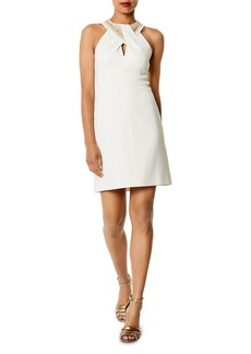 KAREN MILLEN Embellished Mini Dress