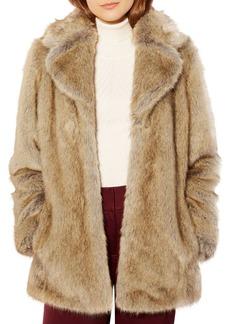 KAREN MILLEN Faux-Fur Coat