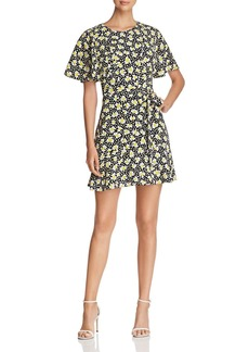 KAREN MILLEN Floral Print Tie-Waist Dress - 100% Exclusive