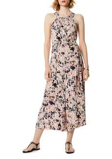 KAREN MILLEN Floral Print Wide-Leg Jumpsuit