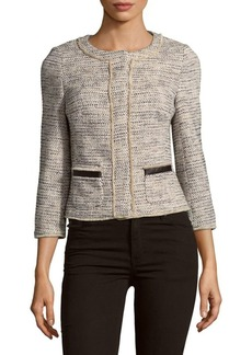 KAREN MILLEN Graphic Tweed Jacket