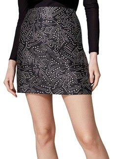 KAREN MILLEN Jacquard Skirt