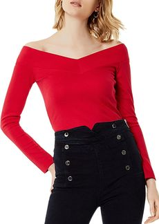 KAREN MILLEN Off-the-Shoulder Top