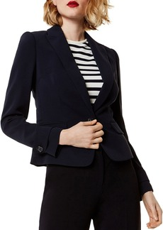 KAREN MILLEN One-Button Blazer