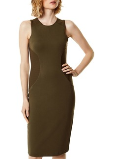 KAREN MILLEN Paneled Sheath Dress