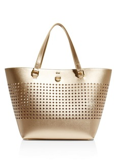 KAREN MILLEN Perforated Circle Tote
