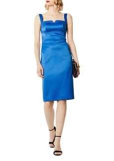 KAREN MILLEN Satin Sheath Dress