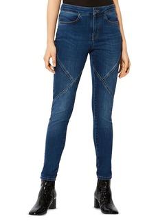 KAREN MILLEN Seam-Detail Skinny Jeans
