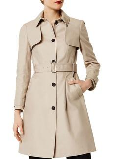 KAREN MILLEN Single-Breasted Trench Coat