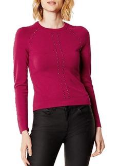 KAREN MILLEN Studded Sweater - 100% Exclusive