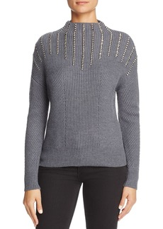 KAREN MILLEN Studded Sweater