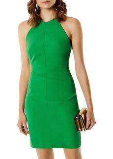 KAREN MILLEN V-Back Sheath Dress