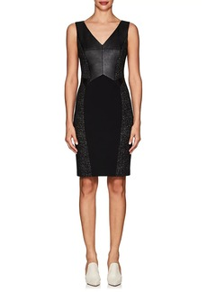 Karen Millen Women's Combo Sheath Dress