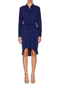Karen Millen Women's Drawstring-Waist Crepe Shirtdress