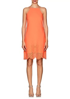 Karen Millen Women's Floral-Cutout Cady Sleeveless Dress