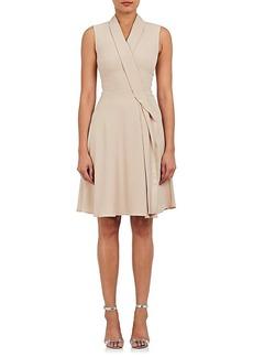 Karen Millen Women's Ruffle-Trimmed Cady Dress