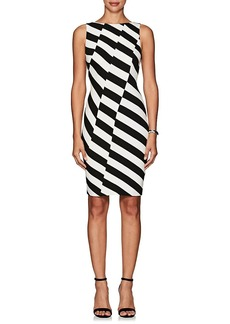 Karen Millen Women's Striped Sleeveless Dress