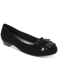 Karen Scott Anabela Embellished Kiltie Flats, Created for Macy's Women's Shoes
