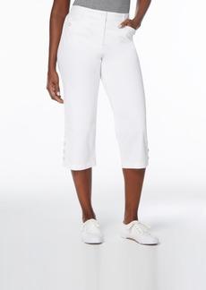 Karen Scott Button-Cuff Capri Pants, Created for Macy's