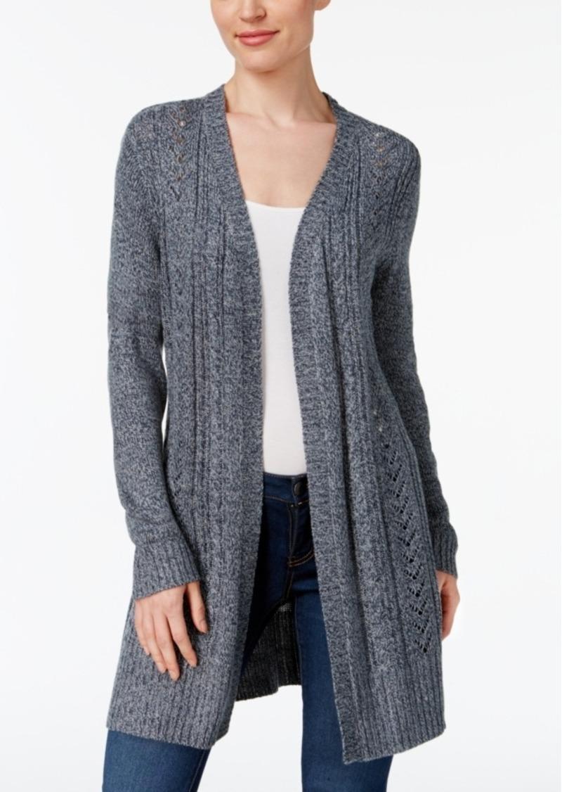 Karen Scott Karen Scott Cable-Knit Duster Cardigan, Created for ...