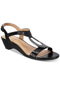 Karen Scott Carmeyy Wedge Sandals, Created for Macy's Women's Shoes