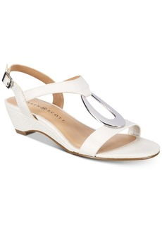 Karen Scott Carmeyy Wedge Sandals, Created for Macy's Women's Shoes