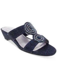 Karen Scott Carri Slide Flat Sandals, Created For Macy's Women's Shoes