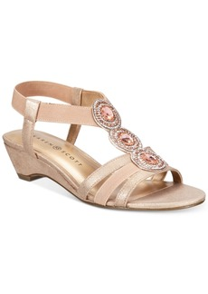 Karen Scott Casha Wedge Sandals, Created for Macy's Women's Shoes