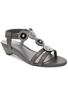 Karen Scott Catrinaa Wedge Sandals, Created for Macy's Women's Shoes