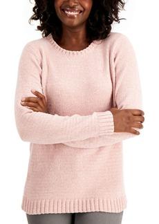 Karen Scott Chenille Sweater, Created for Macy's