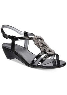 Karen Scott Clemm Wedge Sandals, Only at Macy's Women's Shoes
