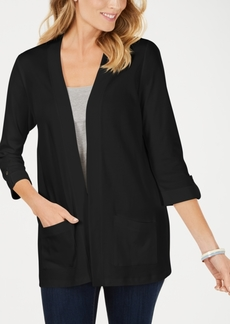Karen Scott Cotton Cozy Cardigan, Created for Macy's
