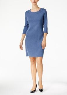 Karen Scott Cotton Hardware Dress, Created for Macy's